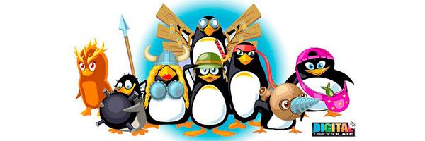 Нападение безумных пингвинов java игра для мобильного телефона