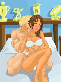 Middle, Секс в общаге - это эротическая флеш игра, где Вы должны развести д