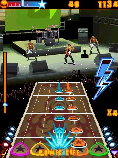 Java игра Guitar Legend Get On Stage. Скриншоты к игре