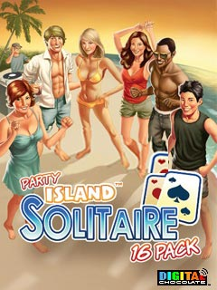 Java игра Party Island Solitaire 16 Pack. Скриншоты к игре