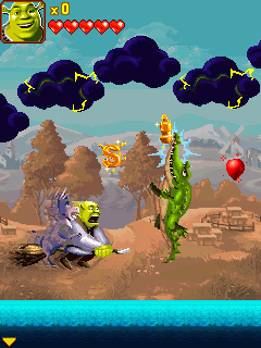 Java игра Shrek Forever After The Mobile Game. Скриншоты к игре Шрек Навсегда