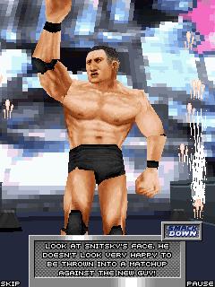 Java развлечение WWE SmackDown vs RAW 0008. Скриншоты для игре Рестлинг 0008