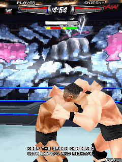 Java игрушка WWE SmackDown vs RAW 0008. Скриншоты ко игре Рестлинг 0008
