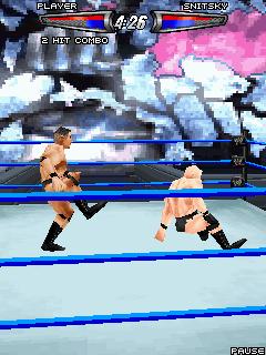 Java потеха WWE SmackDown vs RAW 0008. Скриншоты для игре Рестлинг 0008