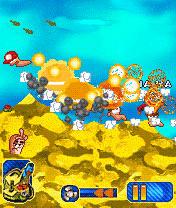 Java шутка Worms 0010. Скриншоты для игре Червячки 0010
