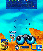 Java игрище Worms 0010. Скриншоты ко игре Червячки 0010